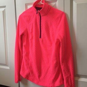 Lightweight fleece pullover